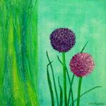Blumenwelten 4 40x40