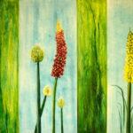 Blumenwelten1. 70x100
