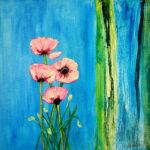 Blumenwelten 7 40x40
